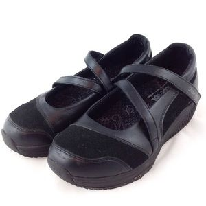 Skechers Shape Ups Black Mary Jane 8.5